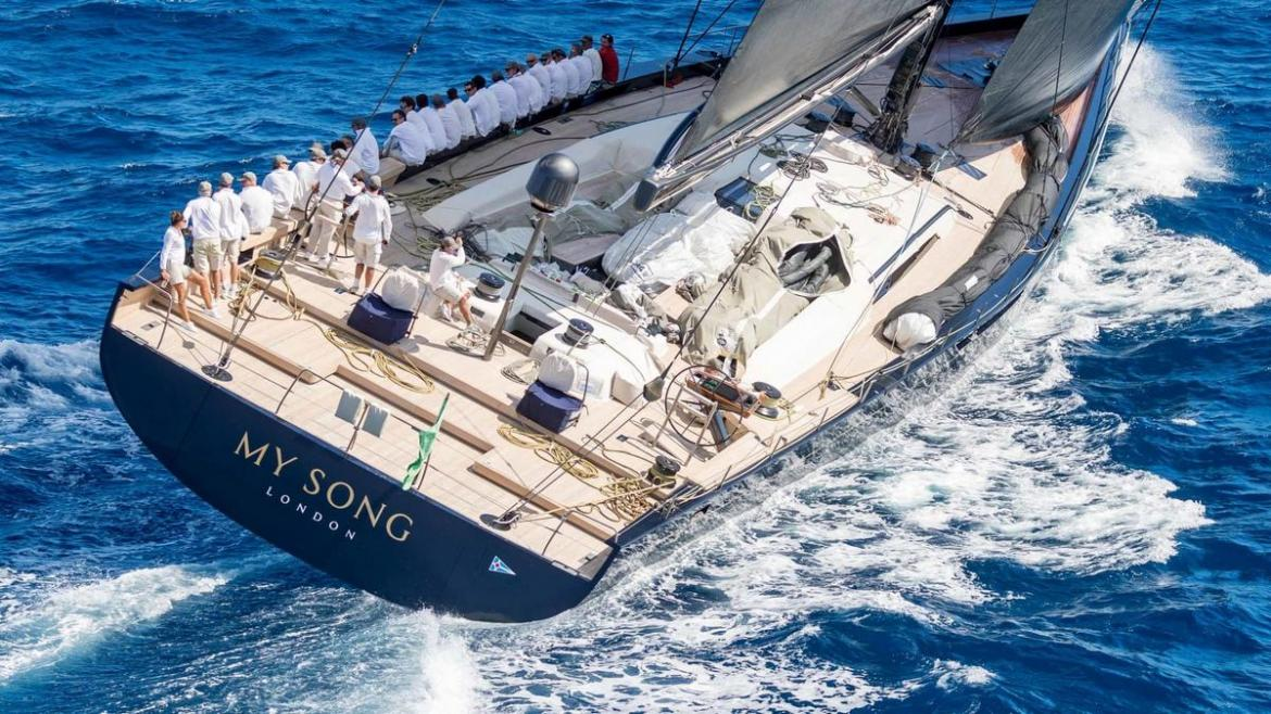 A $34 million luxury yacht is now at the bottom of the sea after falling off a cargo ship -