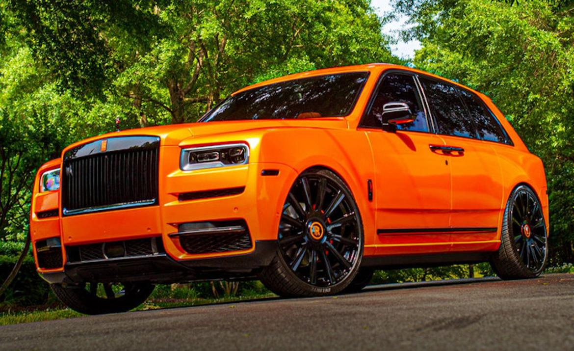 Odell Beckham Jr's Customized Rolls-Royce Cullinan Is As