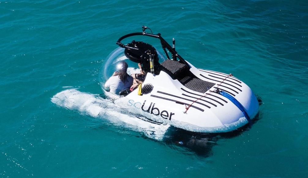 Now you can Uber pool a submarine to see the Great Barrier reef -