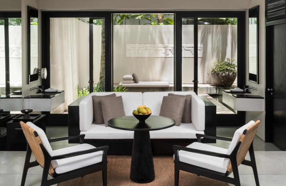 Suite of the Week: The soothing Courtyard Suite at the Amansara, Siem Reap -