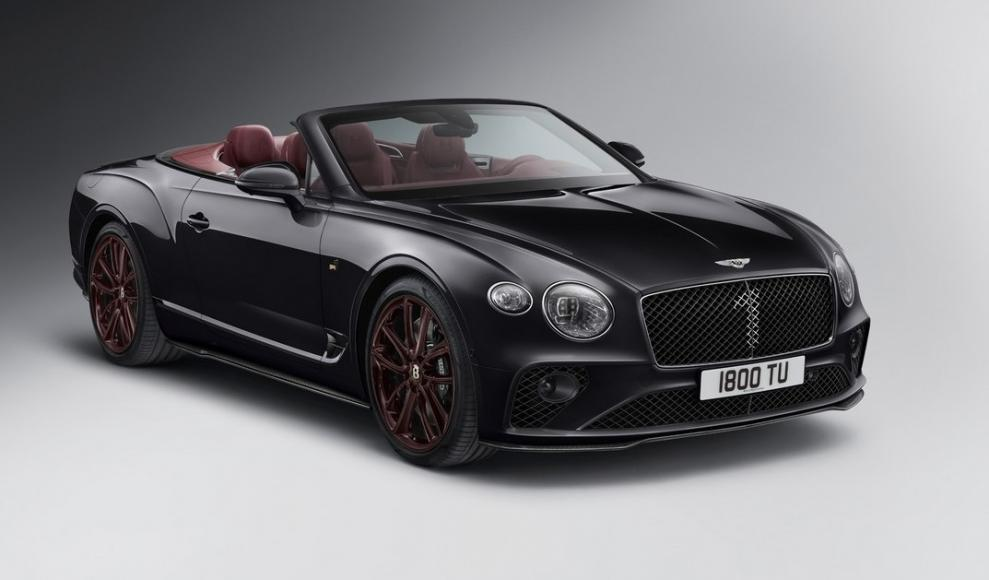 Continental GT Convertible Number 1 Edition by Mulliner (5)