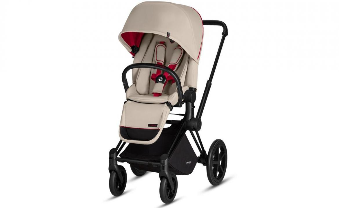 Why should dad have all the fun? Here is a Ferrari pram for junior -