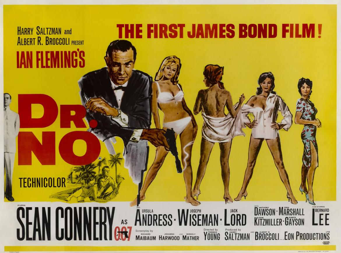 Poster of the first James Bond movie was auctioned for $19,000 -