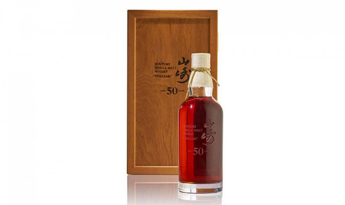 50-year old Yamazaki bottle sells for $430,000, making it the most expensive Japanese Whiskey to date