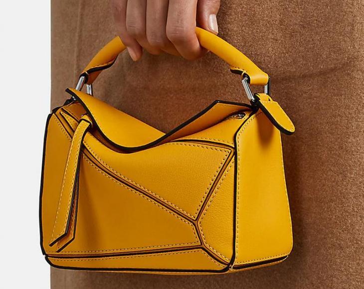 LOEWE Puzzle Mini Leather Shoulder Bag Barneys New York (1)