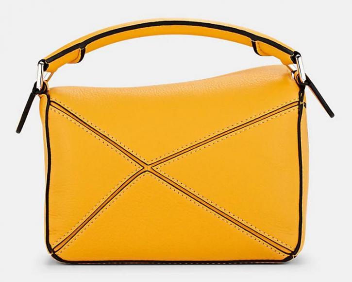 LOEWE Puzzle Mini Leather Shoulder Bag Barneys New York (3)