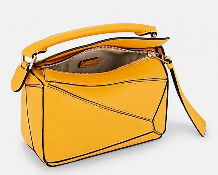 LOEWE Puzzle Mini Leather Shoulder Bag Barneys New York (4)
