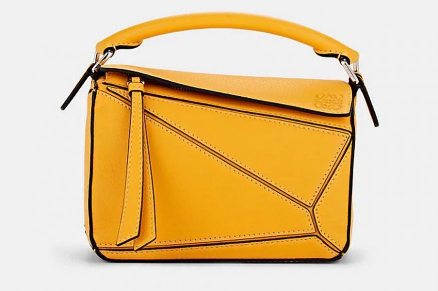 LOEWE Puzzle Mini Leather Shoulder Bag Barneys New York