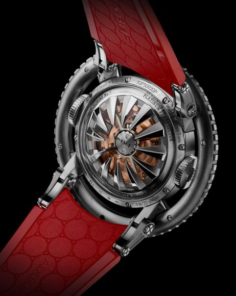 MB&F HM7 Aquapod Platinum Red watch (2)