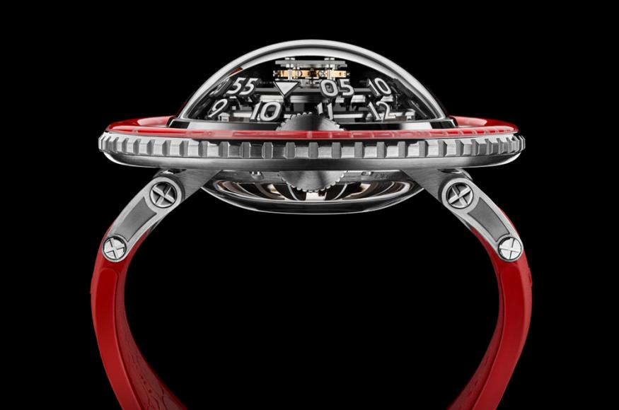 MB&F HM7 Aquapod Platinum Red watch (3)