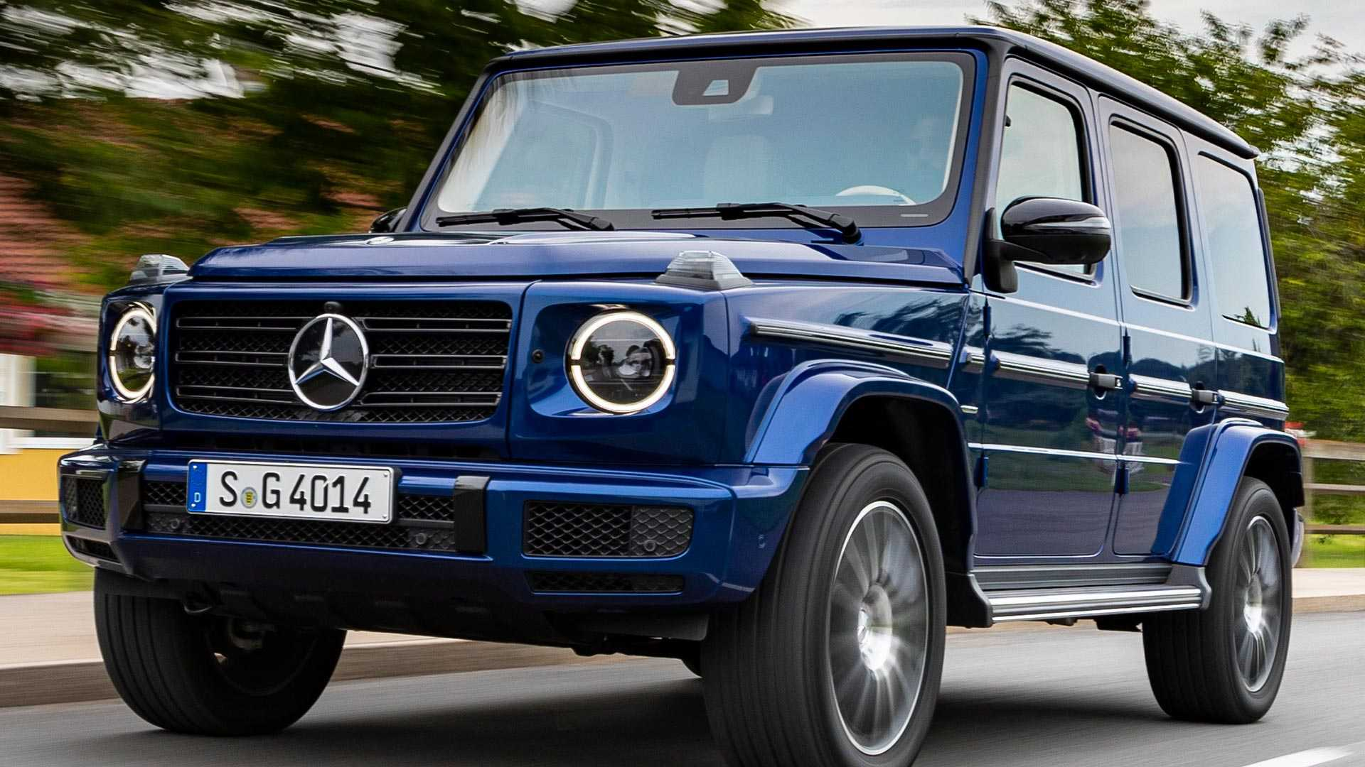 Mercedes Benz Celebrates 40th Anniversary Of G Class By