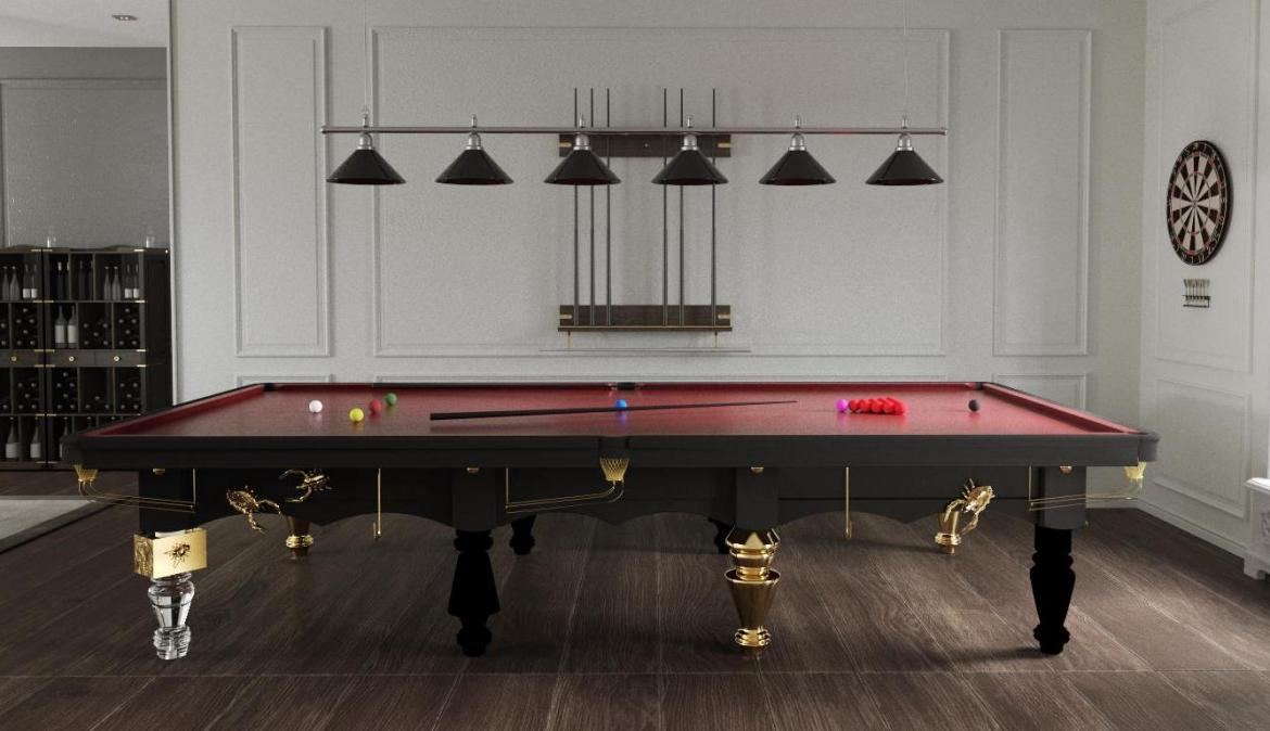 Have a look at this Metamorphosis snooker table that is the ultimate luxury for your game room -
