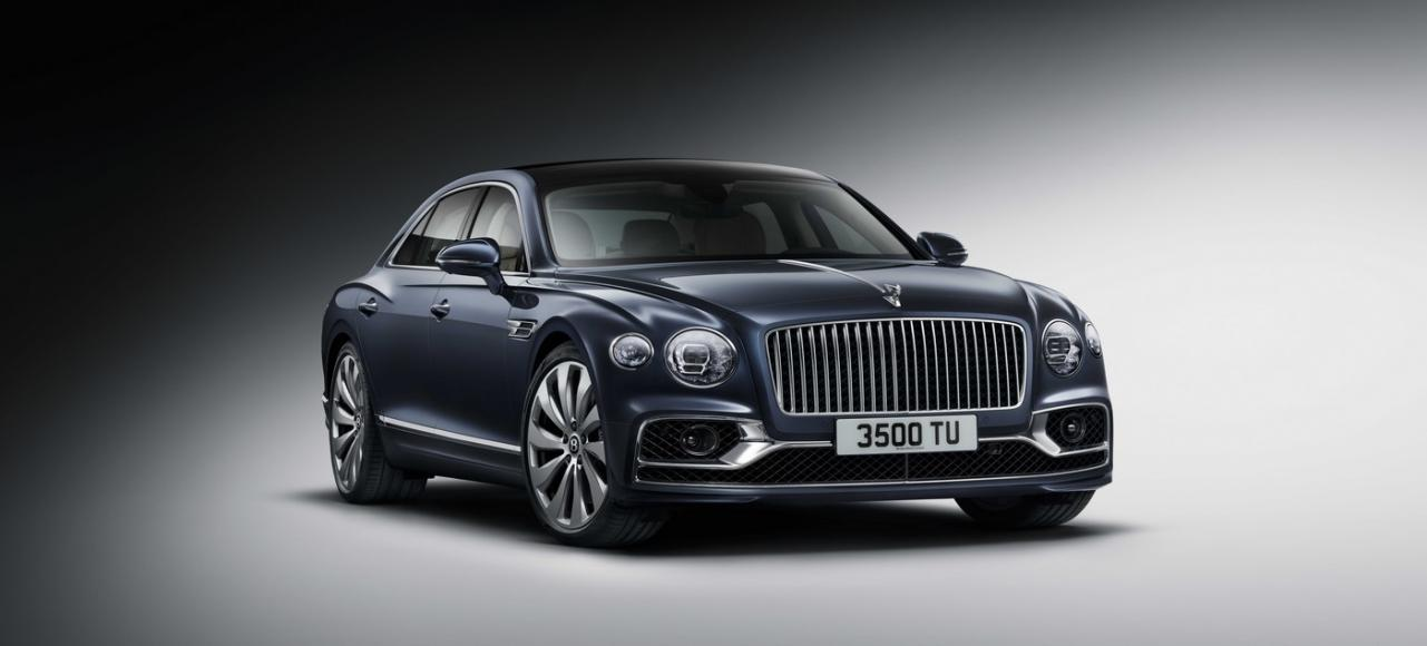 The all-new Bentley Flying Spur is a driver-focused luxury grand tourer that can hit 207mph -