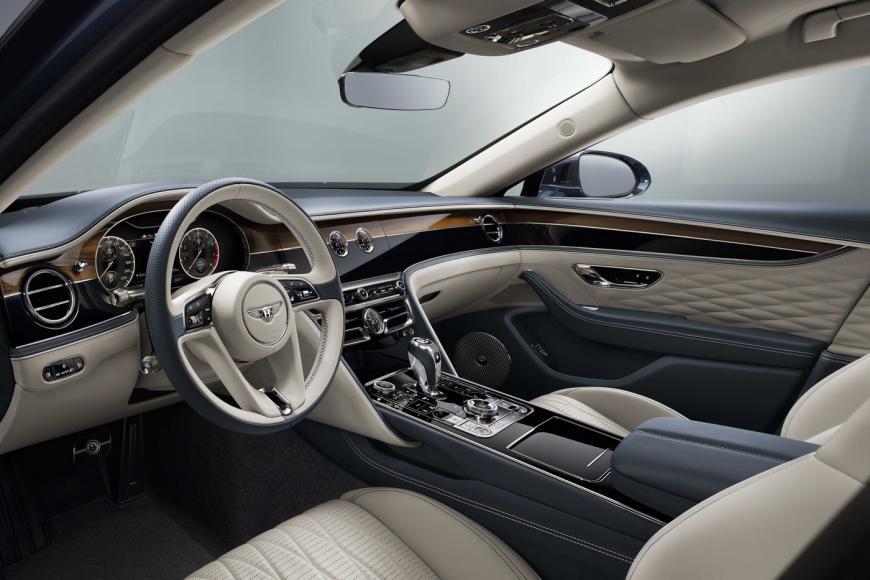 New Bentley Flying Spur 8