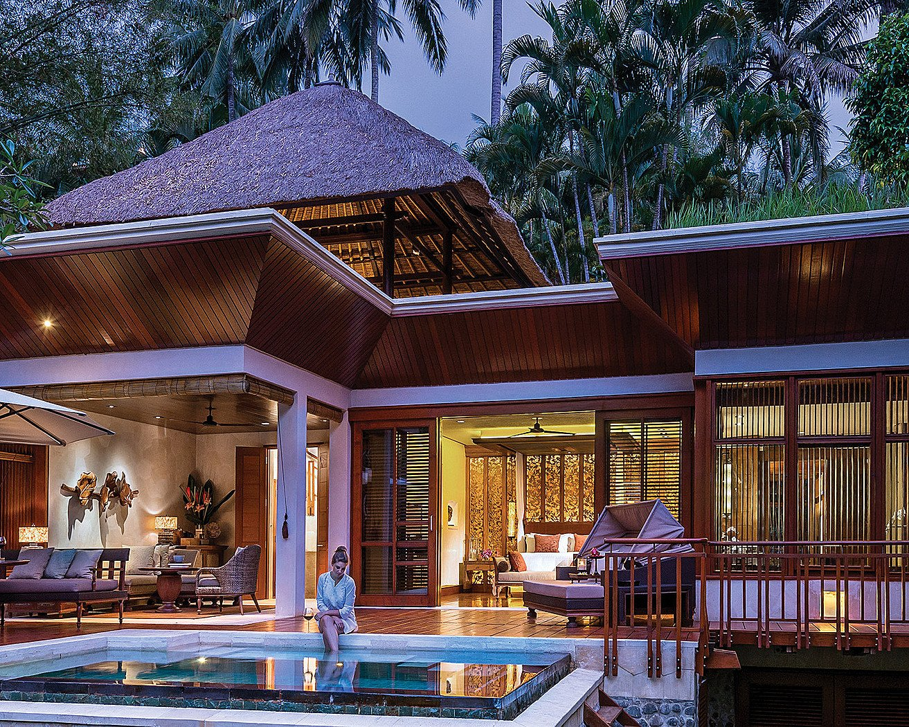 Suite Of The Week The Splendid One Bedroom Villa At The Four Seasons Resort Bali At Sayan Luxurylaunches