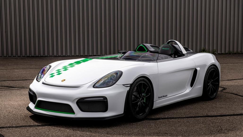 Porsche Bergspyder is an ultra-lightweight speedster that never saw the light of day -