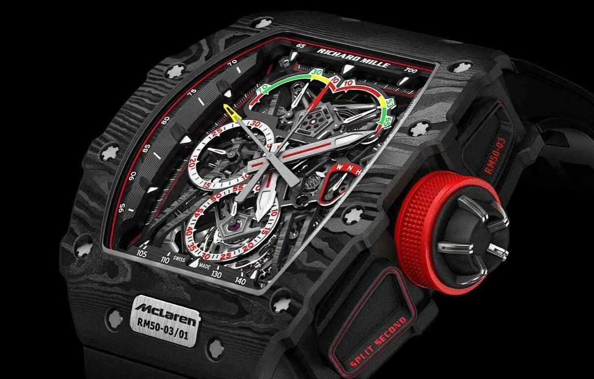 Pickpocket in Ibiza steals a $1 3 million Richard Mille McLaren F1