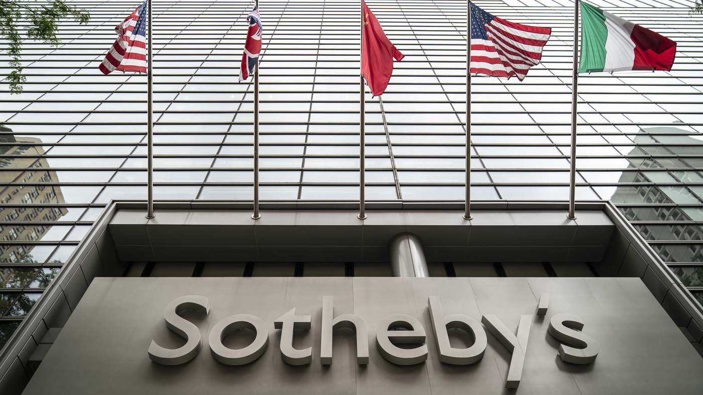 And Gone Sotheby S Auction House Is Sold For 3 7 Billion