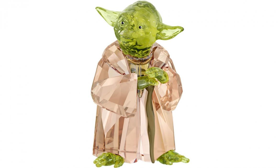 Strong with the bling it is - Swarovski creates a crystal Master Yoda -