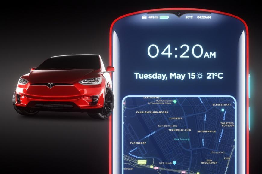 Tesla Model P Smartphone concept (2)