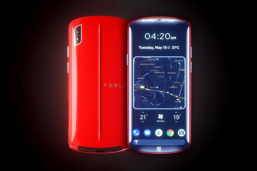Tesla Model P Smartphone concept (6)