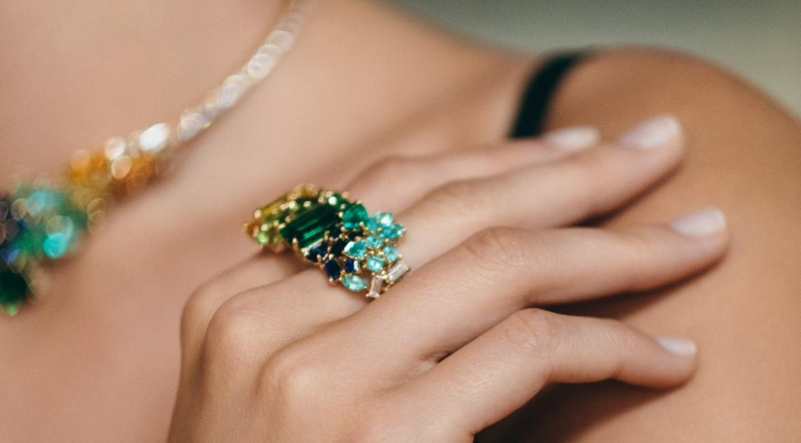 From a $2.1 million necklace to a bejewelled ruby ring - Take a look at Gem Dior's latest collection of fine jewelry -