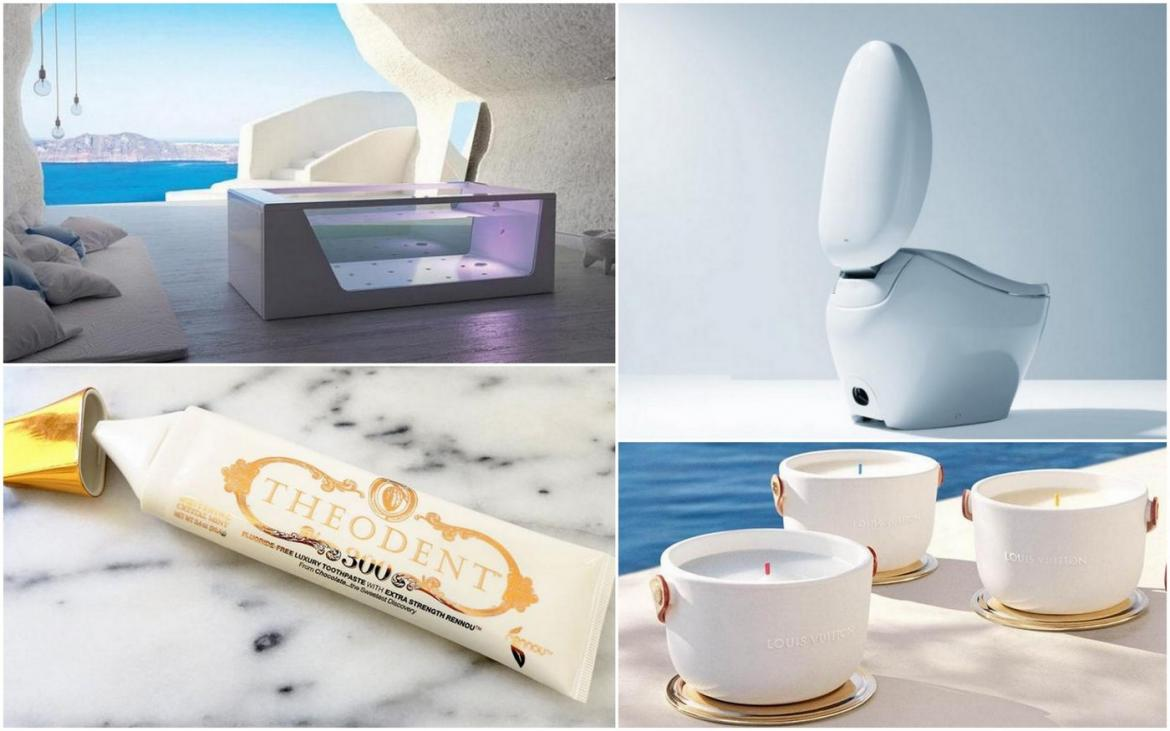 From $100 toothpastes to rain emulating showers - Here are the ultimate luxuries you can buy for your dream bathroom -