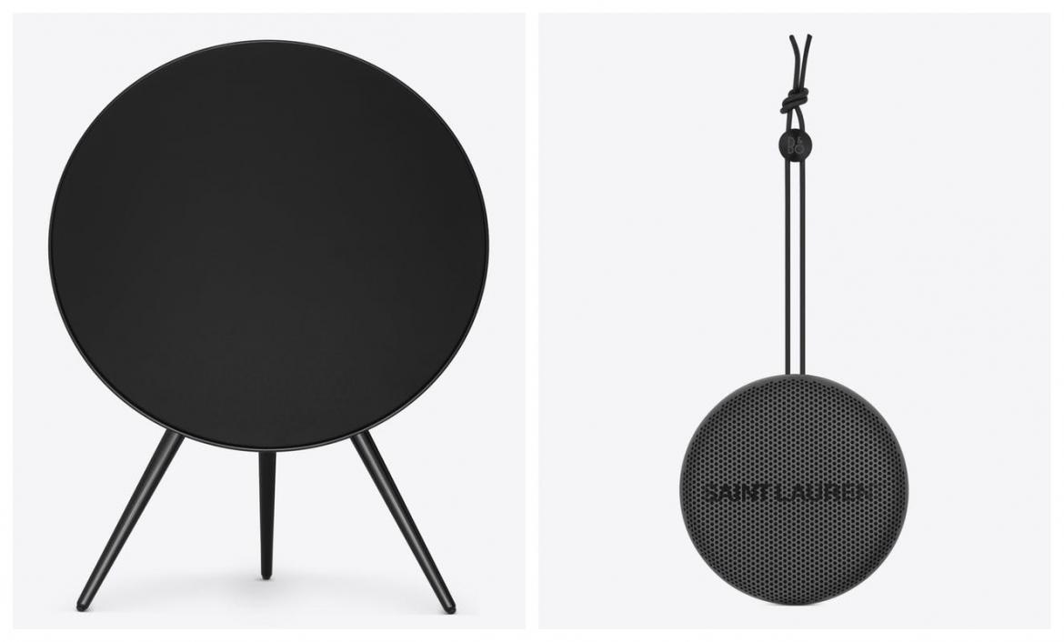 Saint Laurent partners with Bang & Olufsen to launch an all-black special edition speaker collection -