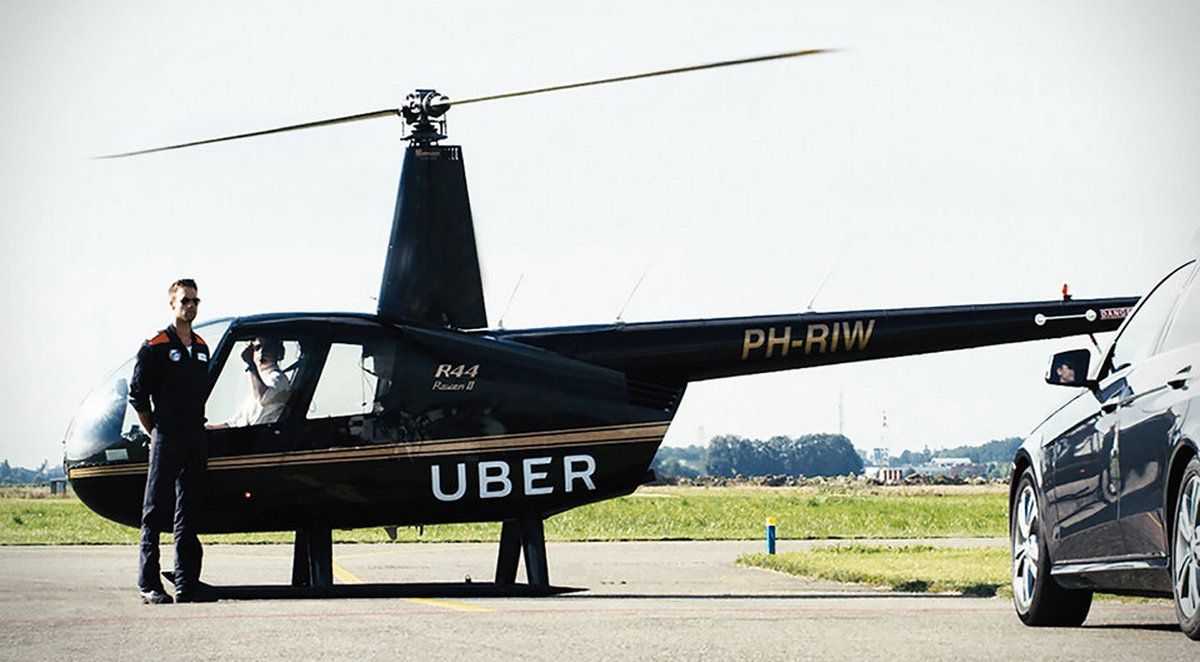 The coolest Uber rides in the world