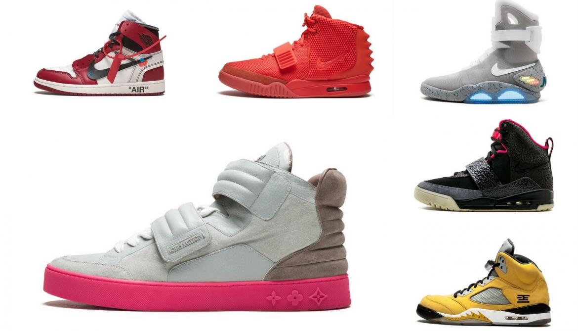 Take a look at the 10 most valuable sneakers in the world -