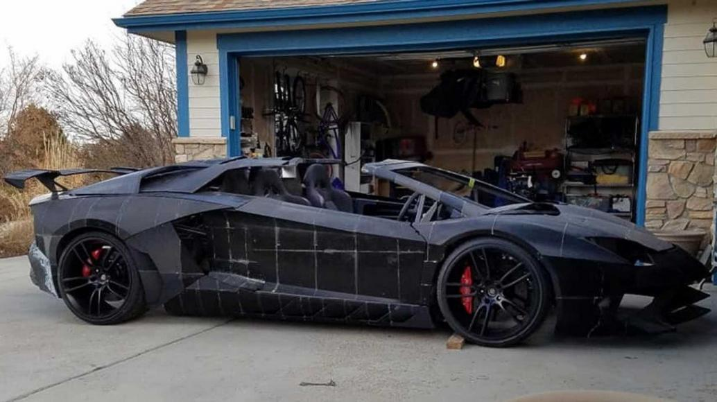 A physicist from Colorado and his son are 3D printing a life-sized Lamborghini Aventador -