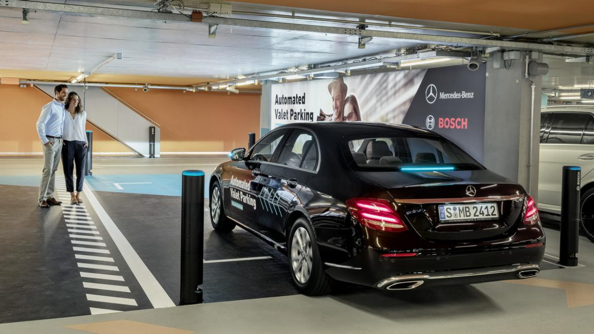 The future of car parking is here - Daimler and Bosch's driverless valet parking gets the green light -