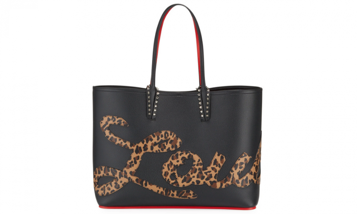Arm Candy of the week: Christian Louboutin Cabata Empire Logo Rio Leopard-Print Tote Bag -