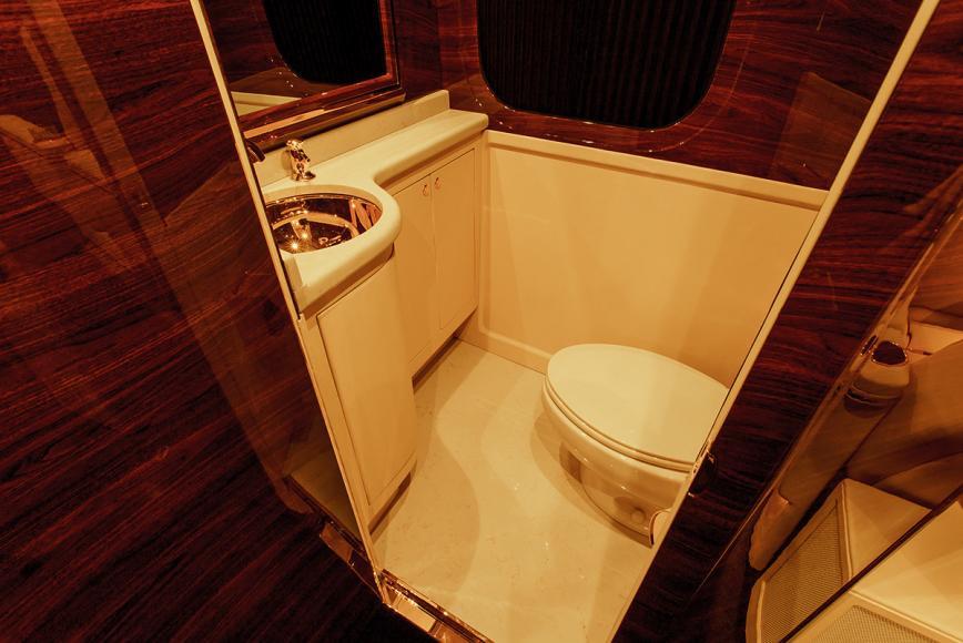 Sky Master restroom