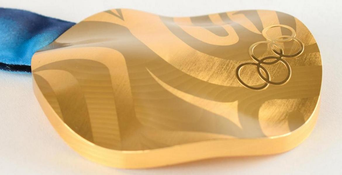 A rare Gold medal from the Vancouver's 2010 Winter Olympics is now up for sale -