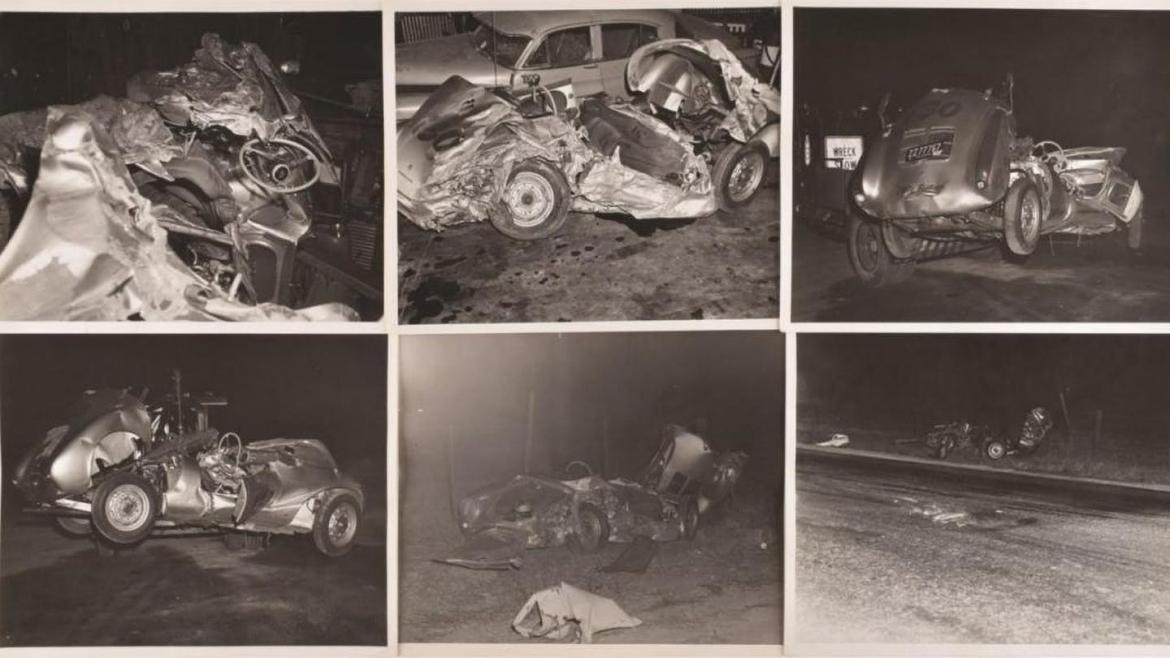 You can now purchase these rare photos from James Dean's fatal accident at an upcoming auction -