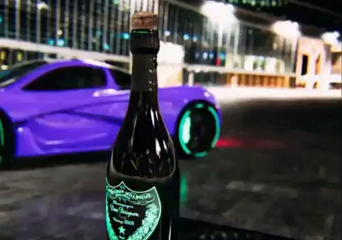 A $1.15M McLaren and Dom Perignon - This is the bottlecap challenge we love -