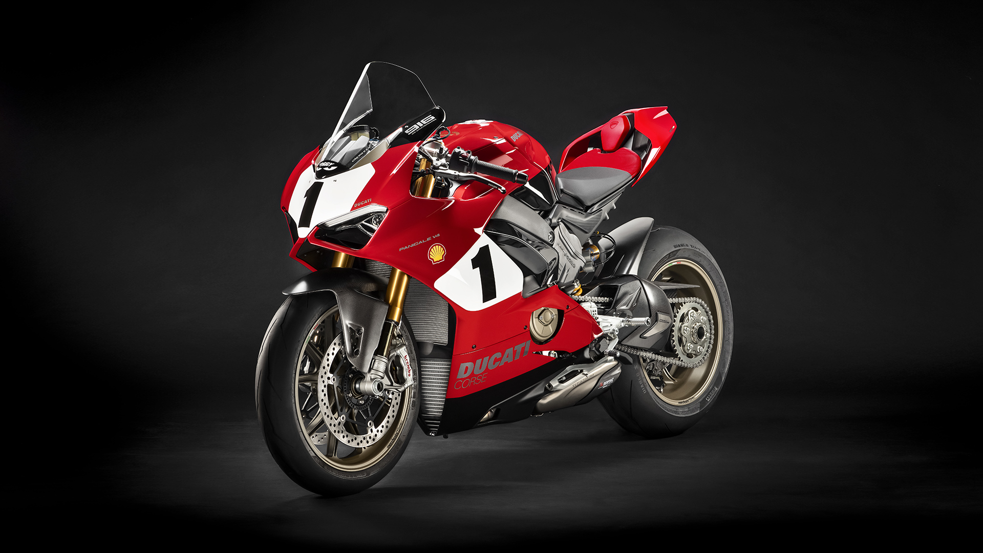 Ducati celebrates the 25th anniversary of the iconic 916 super bike with a limited edition of the Panigale V4