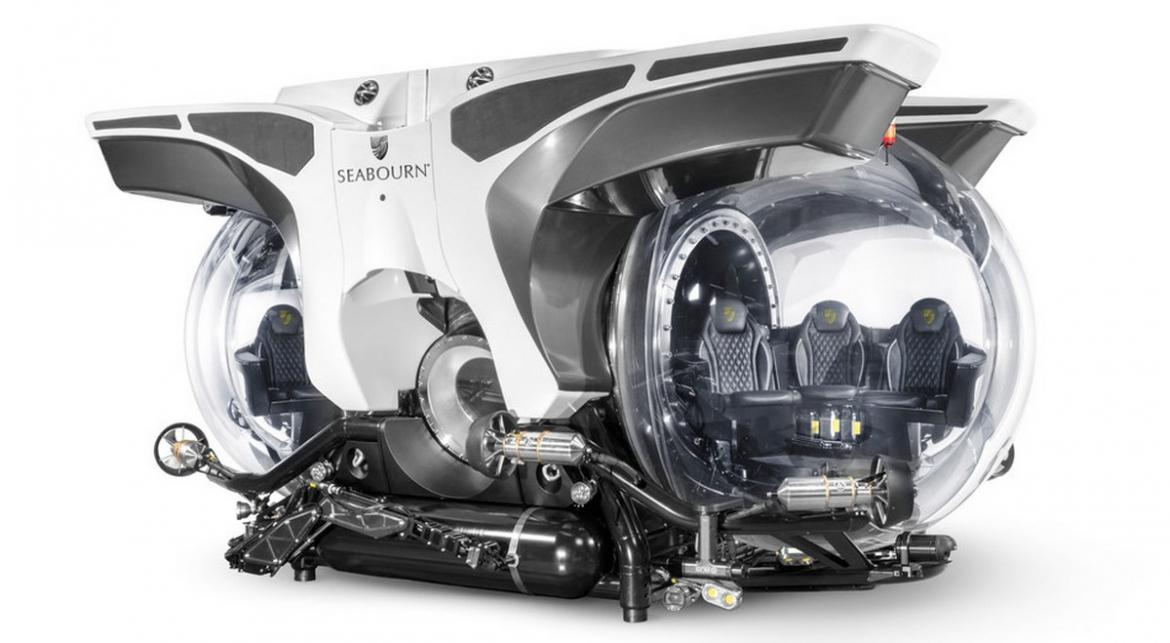 The Rolls-Royce of personal submarines is here -