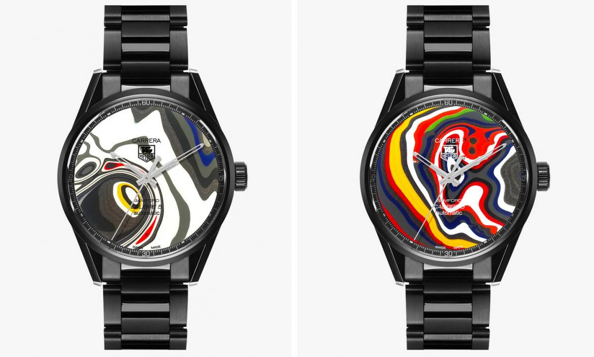 Tag Heuer's newest limited edition watch features unique dial material made from by-product out of Ford factories -