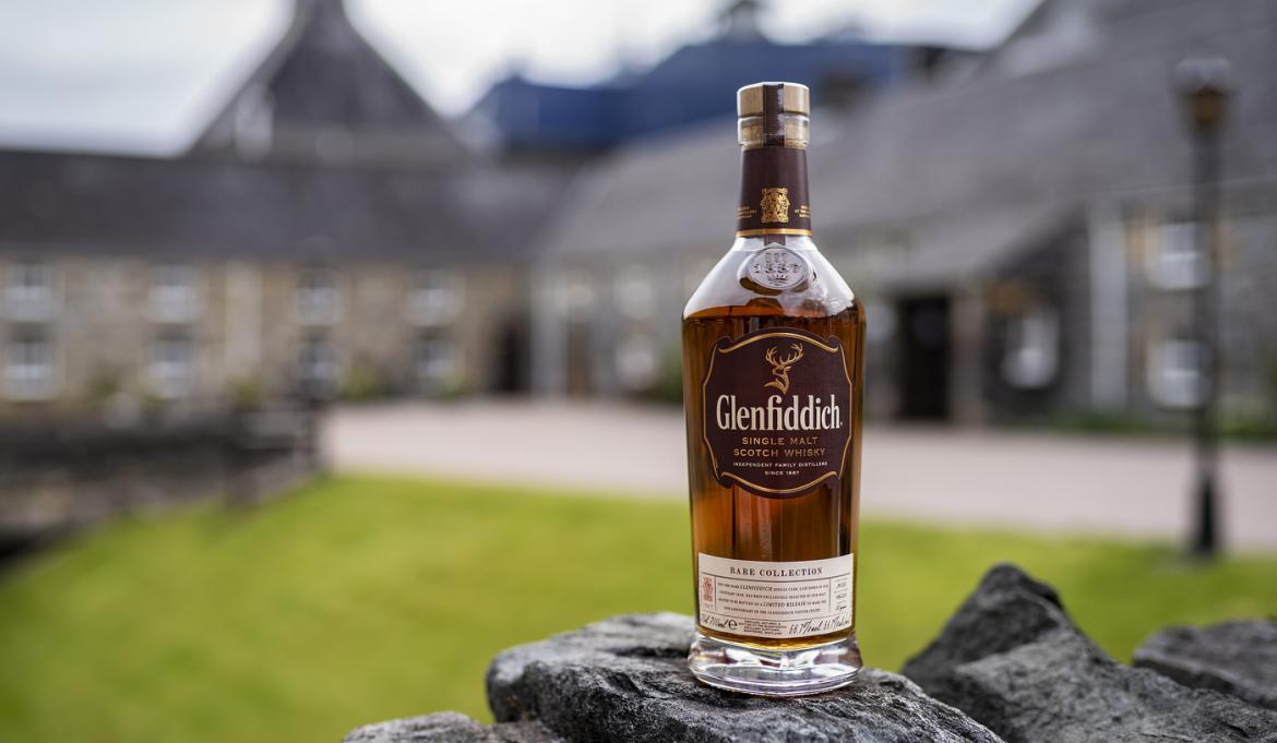 Glenfiddich unveils 30-year-old single malt to celebrate golden anniversary of its distillery visitor center -