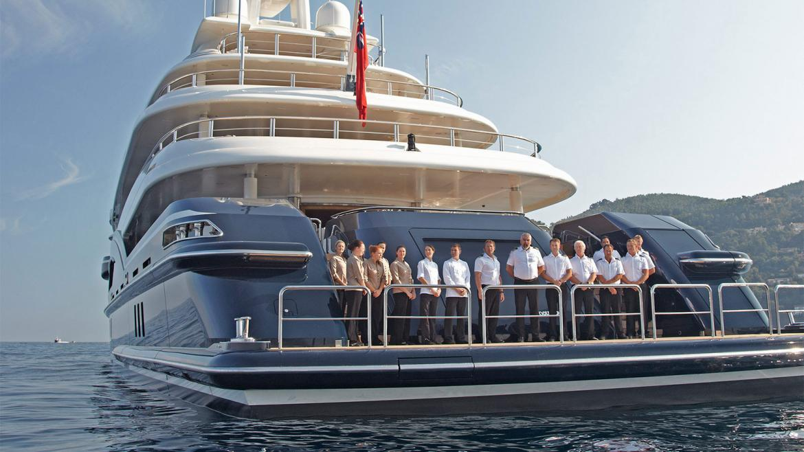 Quora answers - What is it like to be a crew member on a multi-million dollar mega yacht -