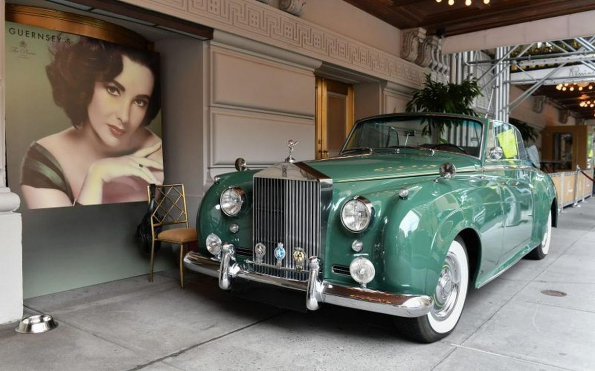 Elizabeth Taylor's custom Rolls Royce convertible could now be yours for an estimated price of $3.5 million -