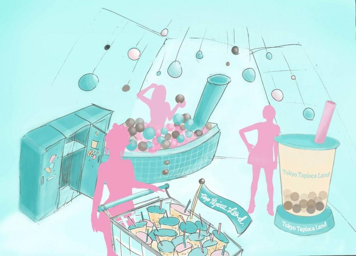 Tokyo is getting its very own bubble tea theme park -