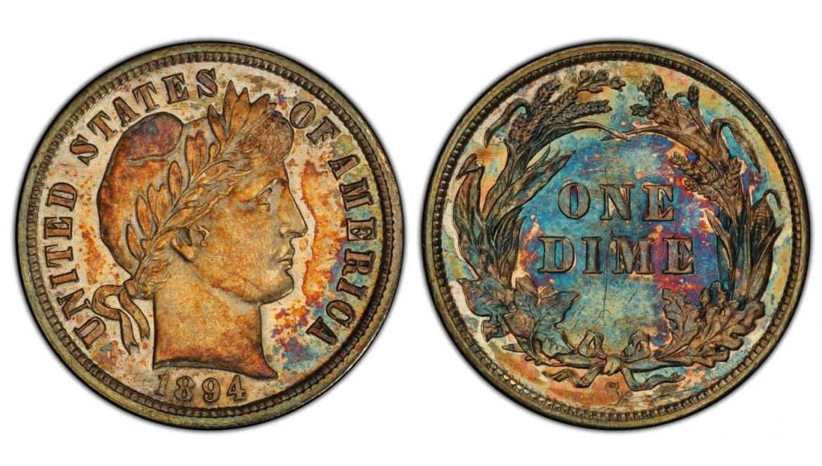 Of Bids and Millions: A 125-year-old dime goes under the hammer for $1.32 million -