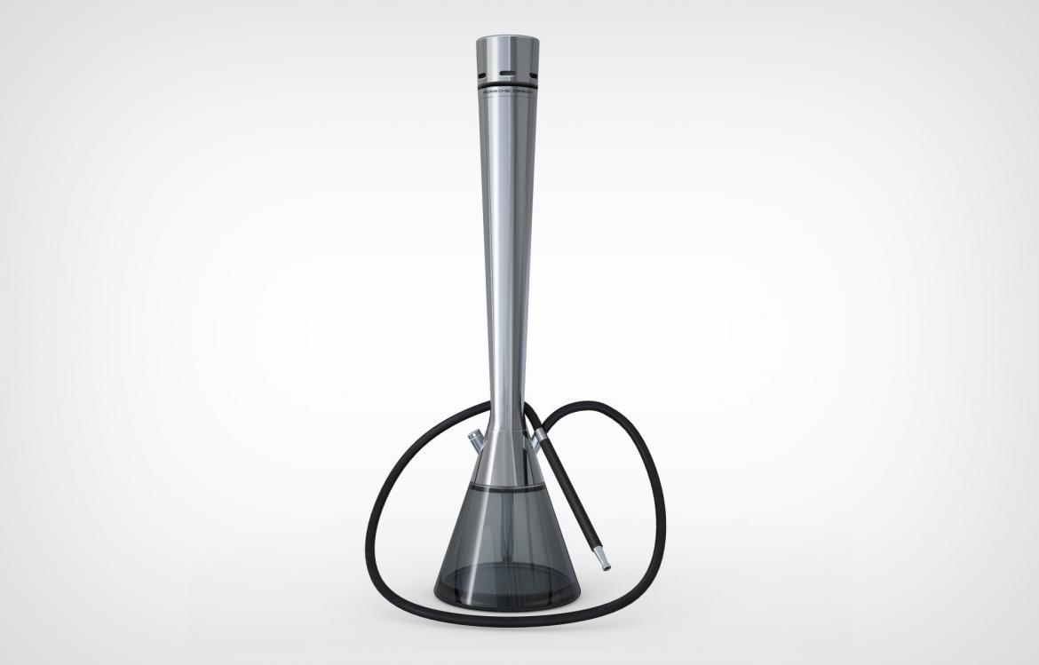 Can this be the sleekest shisha ever? It costs $1900 and is made by Porsche Design -