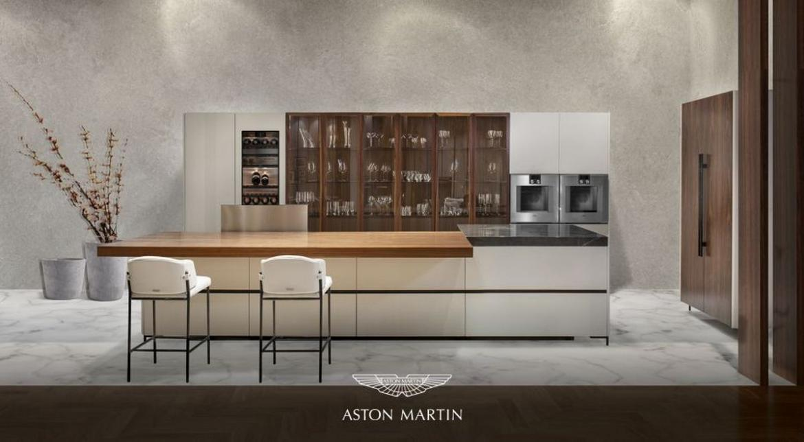 Luxurious and elegant - Aston Martin debuts its first kitchen -