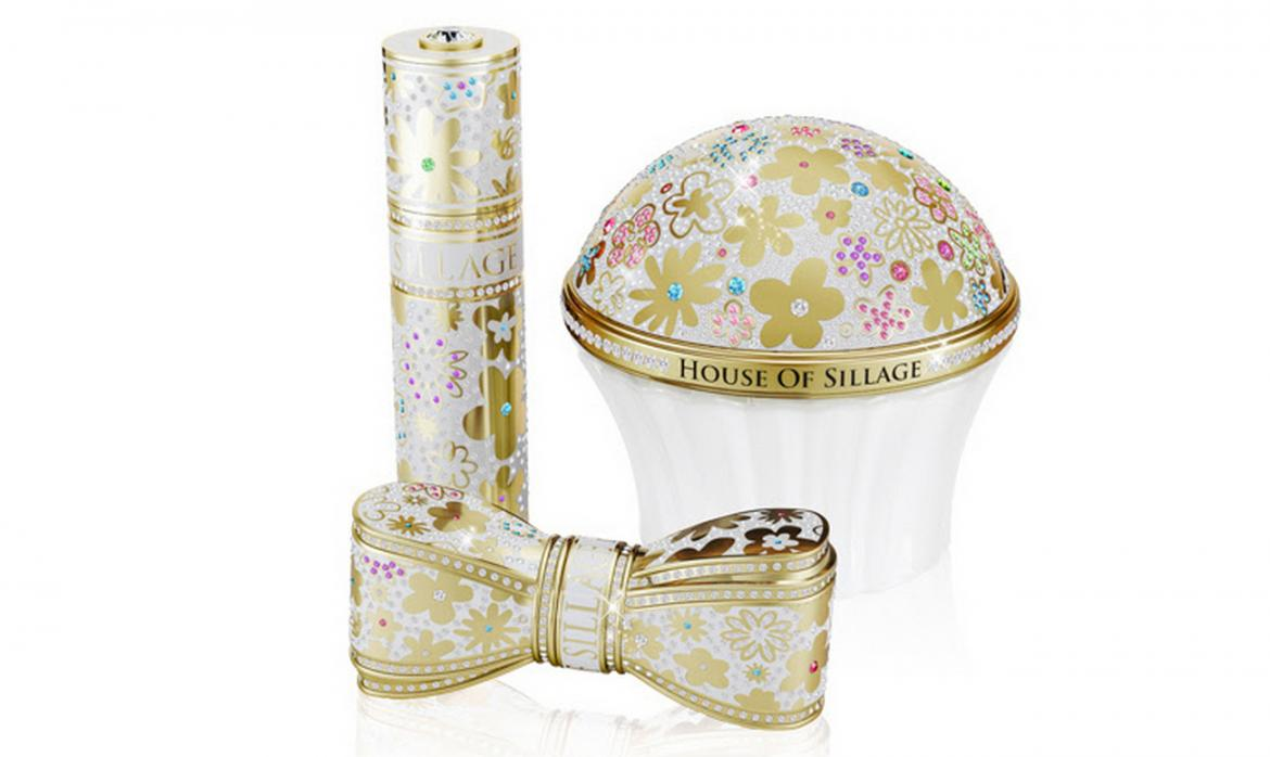 House of Sillage's Whispers of Truth Perfume comes in a Swarovski-encrusted Cupcake Bottle -