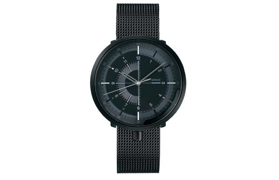 Issey Miyake has collaborated with Seiko for minimalistic mechanical watches -