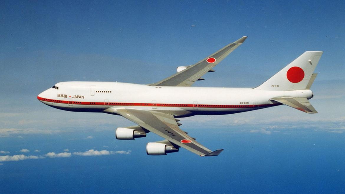 Complete with a bedroom, shower, lounge and more - The Japanese Air Force One is one sale for $28 million -